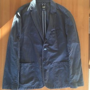 Gap made with linen blue jacket
